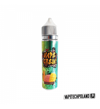 Premix VAPE CREW - MANGO SORBET 50ML Premix o smaku sorbetu z mango. 50ml płynu w butelce o pojemności 60mlProdukt Shake and