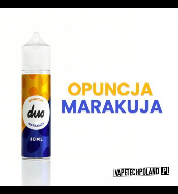 Duo Premix - Opuncja & Marakuja 40ML Premix o smaku owoców tj. opuncja i marakuja. 40ml płynu w butelce o pojemności 60mlProd