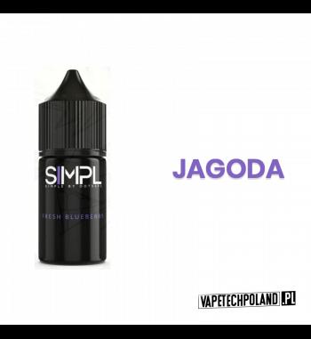 SIMPL - Fresh Blueberry 20ML Płyn o smaku jagody. 20ml płynu w butelce o pojemności 30ml.Produkt Shake and Vape przeznaczony