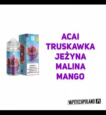 PREMIX Alt Zero 90ml - Simply ACAI Premix Simply ACAIo smaku acai, truskawki, jeżyny, maliny oraz mango.90ml płynu w butelc