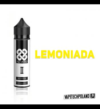 Premix Alt Zero 50ml - II - Pink Lemonade Premix Alt Zero II o smaku lemoniady.50ml płynu w butelce o pojemności 60ml.Produ