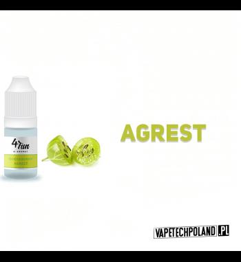 Aromat 4FUN 10ml - Agrest Aromat o smaku agrestu. Pojemność : 10ML 2