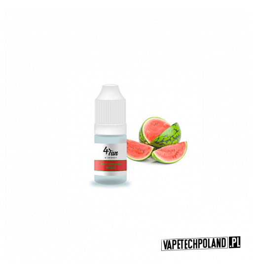 Aromat 4FUN 10ml - Arbuz Aromat o smaku arbuza. Pojemność : 10ML 1