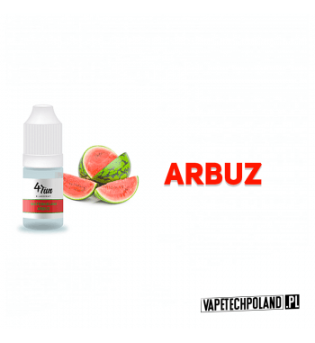 Aromat 4FUN 10ml - Arbuz Aromat o smaku arbuza. Pojemność : 10ML 2