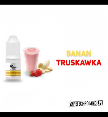 Aromat 4FUN 10ml - Banan&Truskawka Aromat o smaku banana i truskawki. Pojemność : 10ML 2