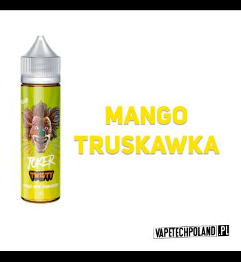 Premix JOKER 40ml - Twisty Premix o smaku mango z truskawką. 40ml płynu w butelce o pojemności 60ml.Produkt Shake and Vape pr