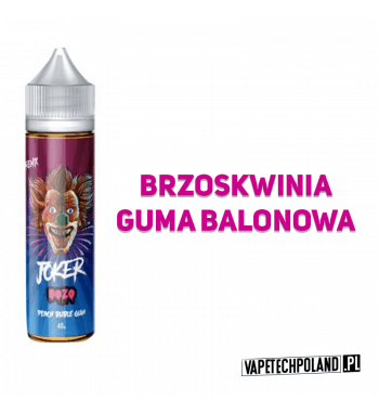 Premix JOKER 40ml - Boze Premix o smakubrzoskwini i gumy balonowej. 40ml płynu w butelce o pojemności 60ml.Produkt Shake and