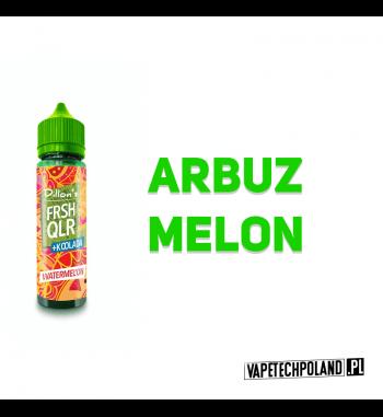 Premix DILLONS FRSH QLR 50ML - WATERMEL'ON Premix o smaku arbuza z melonem. 50ml płynu w butelce o pojemności 60ml.Produkt Sh