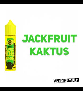 LEMON DEMON - JACKFRUIT & KAKTUS 40ML Premix o smaku orzeźwiającego Jackfruita ze słodkim kaktusem. 40ml płynu w butelce o poje