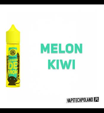 LEMON DEMON - MELON & KIWI 40ML Premix o smaku kwaśnego kiwi z dodatkiem słodkiego melona.40ml płynu w butelce o pojemności 6
