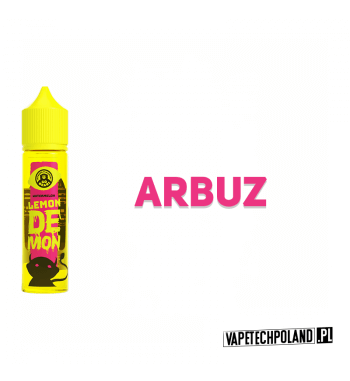 LEMON DEMON - ARBUZ 40ML Premix o smaku słodkiego arbuza. 40ml płynu w butelce o pojemności 60ml.Produkt Shake and Vape przez