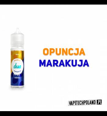 Duo Premix ICE - Opuncja & Marakuja 40ML Premix chłodzący o smakuopuncji z dodatkiem marakui.40ml płynu w butelce o pojemnoś