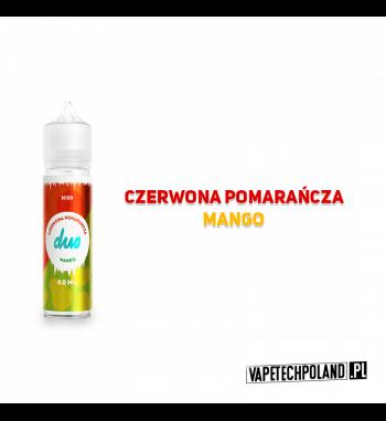 Duo Premix ICE - Czerwona Pomarańcza & Mango 40ML Premix chłodzący o smakuczerwonej pomarańczy z mango.40ml płynu w butelce