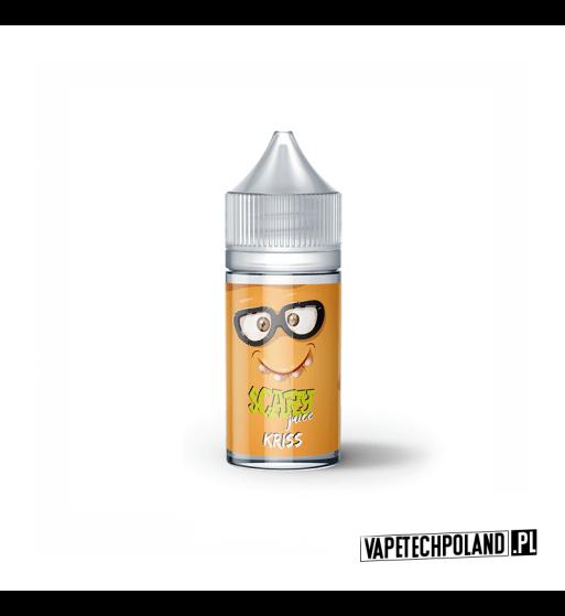 Premix Scary Juice- KRISS 20ml Premix Scary Juice o smaku pomarańczy, pann'y cotta i kokosanki. 20ml płynu w butelce o pojemnoś