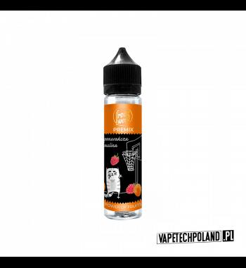 Premix FreakWeek - Pomarańcza Malina 40ml Premix o smakupomarańczy z maliną.40ml płynu w butelce o pojemności 60ml.Produkt