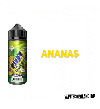 Premix Fizzy Juice - Pineapple 100ml Premix o smakuananasa.100ml płynu w butelce o pojemności 120ml.Produkt Shake and Vape