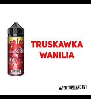 Premix Fizzy Juice - Strawberry Custard 100ml Premix o smakutruskawki z wanilią.100ml płynu w butelce o pojemności 120ml.P