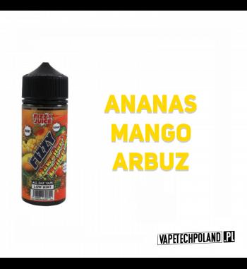 Premix Fizzy Juice - Hawaiian Delight 100ml Premix o smakuananasa, mango i arbuza.100ml płynu w butelce o pojemności 120ml.