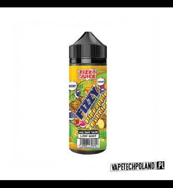 Premix Fizzy Juice - Pineapple Bubblegum 100ml Premix o smaku ananasa z gumą balonową.100ml płynu w butelce o pojemności 120m