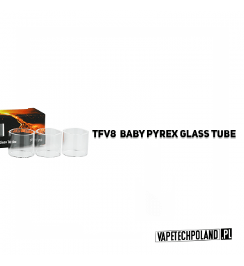 Pyrex Glass/Szkło do TFV8 Baby 2ML Pyrex Glass/Szkło do TFV8 Baby 2ML. W zestawie znajduję się jedna sztuka. 2