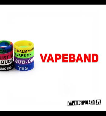 Vape Band - Silikonowa Opaska Silikonowa opaska,która pozwoli ochronić twojego e-papierosa przed upadkiem! Vape Bandy wybierane