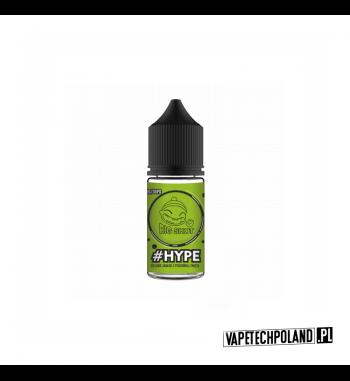 Premix BIG SHOT - HYPE 20ML Mieszanka owoców takich jak jabłko,poziomka i mięta. 20ml płynu w butelce o pojemności 30ml. Produk