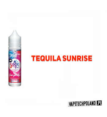 Premix SELFIE - Tequila Senrise 50ml Premix o smakutequila sunrise.50ml płynu w butelce o pojemności 60ml.Produkt Shake an