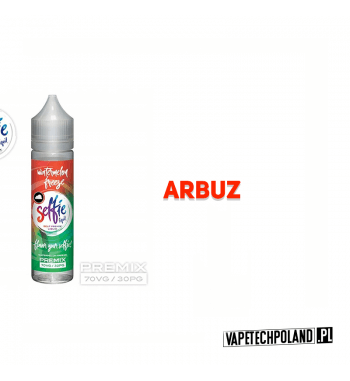 Premix SELFIE - Watermelon Freeze 50ml Premix o smaku arbuza.50ml płynu w butelce o pojemności 60ml.Produkt Shake and Vape