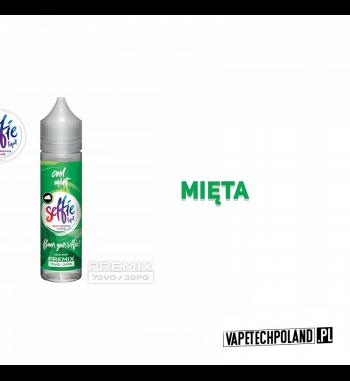 Premix SELFIE - Cool Mint 50ml Premix o smakumięty.50ml płynu w butelce o pojemności 60ml.Produkt Shake and Vape przeznacz