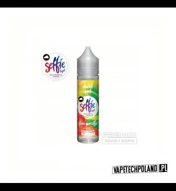 Premix SELFIE - Double Apple 50ml Premix o smakujabłkowym.50ml płynu w butelce o pojemności 60ml.Produkt Shake and Vape pr
