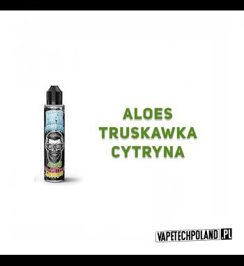 PREMIX Hipzz Freeze - Aloe / Wild Strawberry / Lemon 50ml Premixo smakualoesu, truskawki i cytryny. 50ml płynu w butelce o po