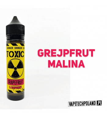 PREMIX TOXIC 40ML - GRAPEFRUIT & RASPBERRY 2