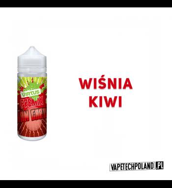 PREMIX VIRTUS - ASIAN GARDEN 20ml Premixo smakuwiśni z kiwi.20ml płynu w butelce o pojemności 30mlProdukt Shake and Vape