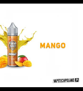 Premix PUKKA Juice - Mango 50ml Premix o smaku mango.50ml płynu w butelce o pojemności 60ml.Produkt Shake and Vape przeznac