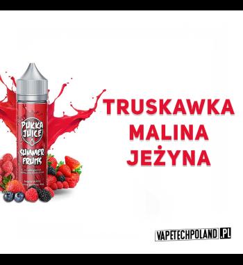 Premix PUKKA Juice - Summer Fruits 50ml Premix o smakutruskawki, maliny i jeżyny.50ml płynu w butelce o pojemności 60ml.Pr