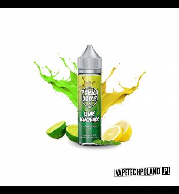 Premix PUKKA Juice - Lime Lemonade 50ml Premix o smaku limonki z cytryną.50ml płynu w butelce o pojemności 60ml.Produkt Sha