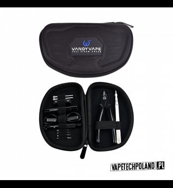 Zestaw - Vandy Vape Tool Kit PRO Zestaw narzędzi Vandy VapeWewnątrz znajdują się:- ceramiczne szczypce- śrubokręt płaski- śrubo