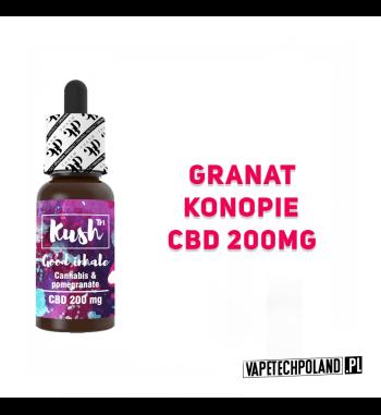 PREMIX KUSH STANDARD 200MG CBD - Good Inhale 10ml Premix CBD 250MG o smaku granatu.10ml płynu w butelce.Wyprodukowany na ba
