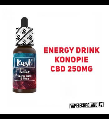 PREMIX KUSH EXPERIENCE 250MG CBD - Feelex 10ml Premix CBD 250MG o smaku energy drinka.10ml płynu w butelce.Wyprodukowany na