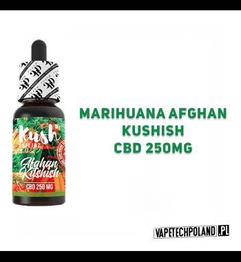 PREMIX KUSH ORIGINS 250MG CBD - Afghan Kushish 10ml Premix CBD 250MG o smaku marihuany afghan i kushish'u.10ml płynu w butelc