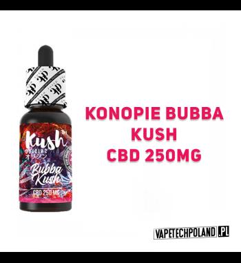 PREMIX KUSH ORIGINS 250MG CBD - Bubba Kush 10ml Premix CBD 250MG o smaku konopii bubba i kush'u.10ml płynu w butelce.Wyprod