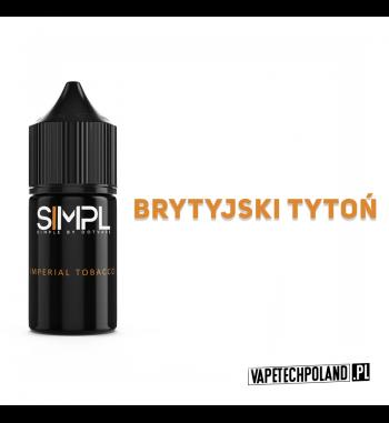SIMPL - Imperial Tobacco 20ML Płyn o smakubrytyjskiego tytoniu.20ml płynu w butelce o pojemności 30ml.Produkt Shake and Va