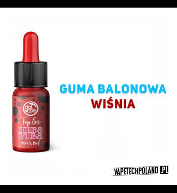 Aromat Top Line - HUBA BUBA 15ml Aromat o smakugumy balonowej z wiśnią.  Sugerowane dozowanie: 7-15% Pojemność: 15ml 2