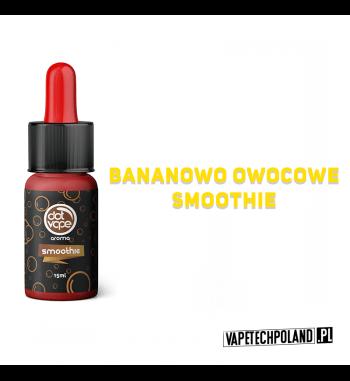 Aromat Dot Vape - SMOOTHIE 15ml Aromat o smakubananowo owocowego smoothie.  Sugerowane dozowanie: 7-15% Pojemność: 15ml 2