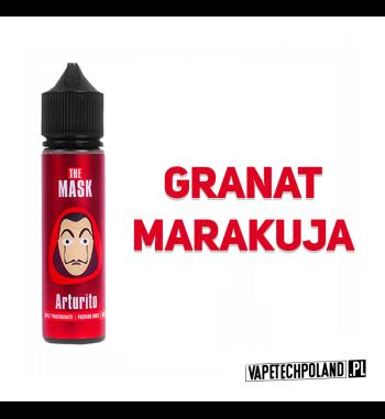 PREMIX THE MASK 40ML - Arturito Premix o smaku granata z marakują i dodatkiem kolady.40ml płynu w butelce o pojemności 60ml.