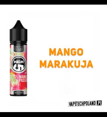 PREMIX HIGH5 FRUMIX - MANGO PASSION FRUIT 40ml Premix o smakumango z marakują,40ml płynu w butelce o pojemności 60ml.Produ