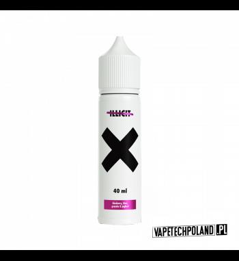 """Premix Go Bears """"X"""" - blueberry, kiwi, granola & Joghurt Premix o smakujagody, kiwi, jogurtu i granoli.50ml płynu w butelce"""