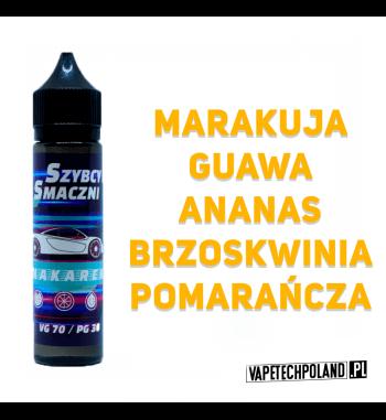 Premix Szybcy i Smaczni - MAKARENA 40ML Premix o smakumarakui, guawy, ananasa, brzoskwini oraz pomarańczy. 40ml płynu w butelc