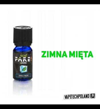 Aromat Just FAKE - ZIMNA MIĘTA 10ml Aromat o smakuzimnej mięty.  Sugerowane dozowanie: 7-15% Pojemność: 10ml 2