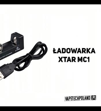 Ładowarka jednokanałowa - XTAR MC1 Profesjonalna, kompaktowa ładowarka procesorowaXTAR MC1 do akumulatorów w rozmiarach 18650